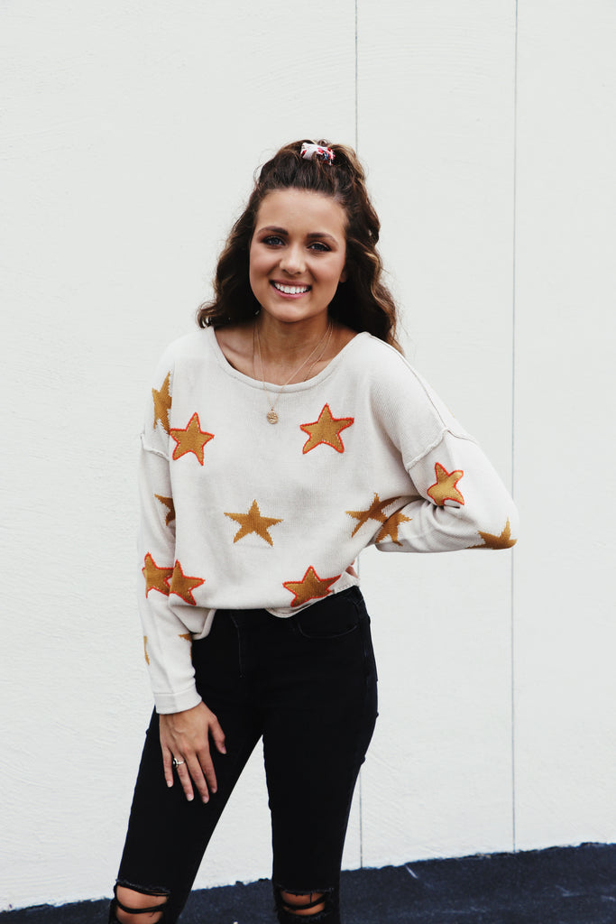 Star Bright Knit Sweater