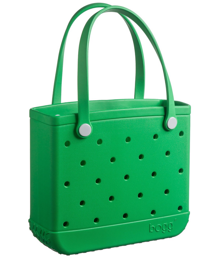 green small bogg bag