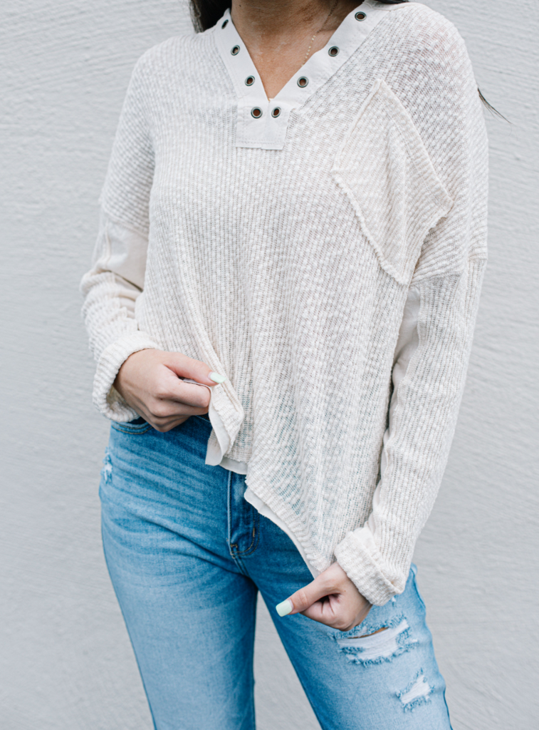 Canyon Moon Knit Top