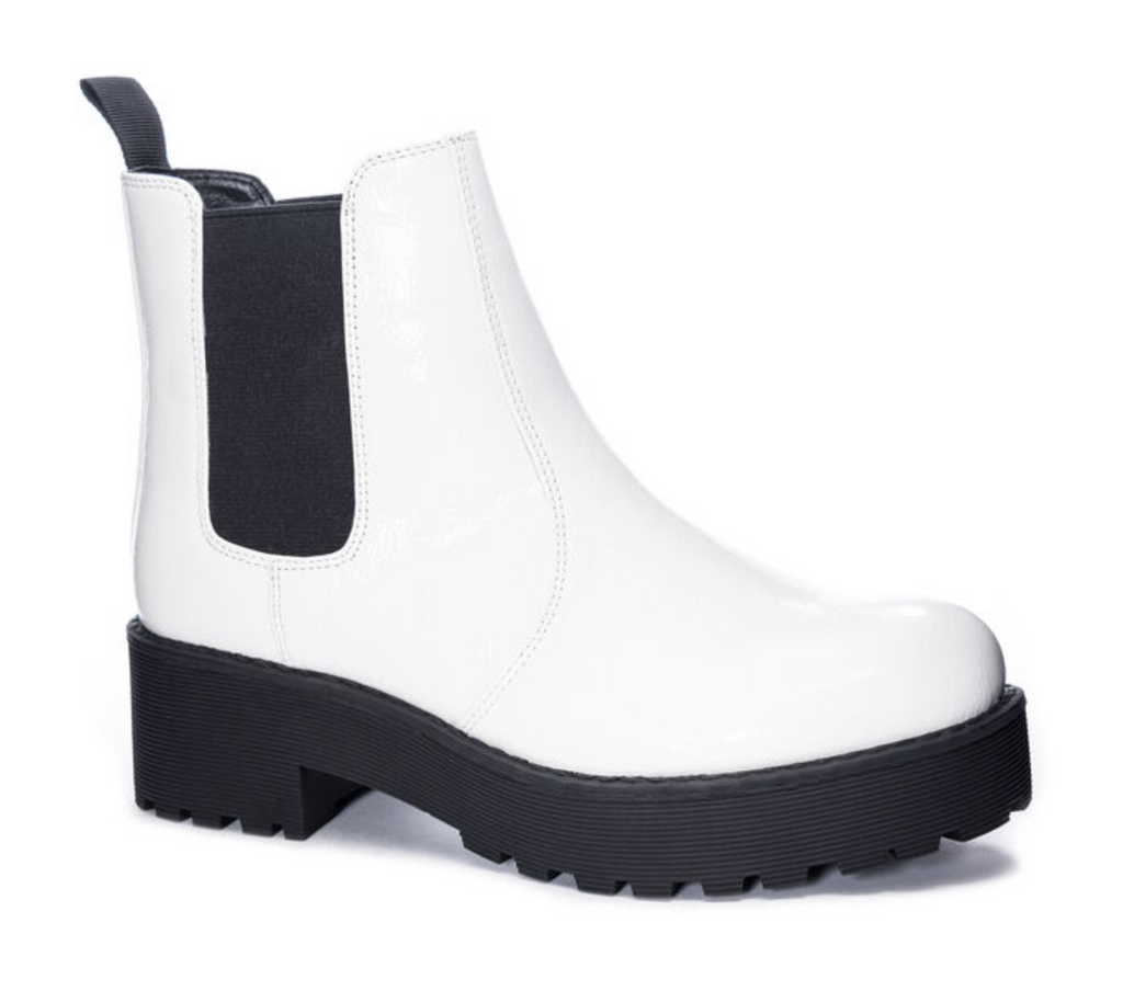 white margo boot
