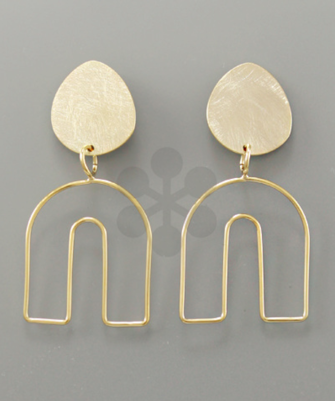 Geometric Arch Earrings