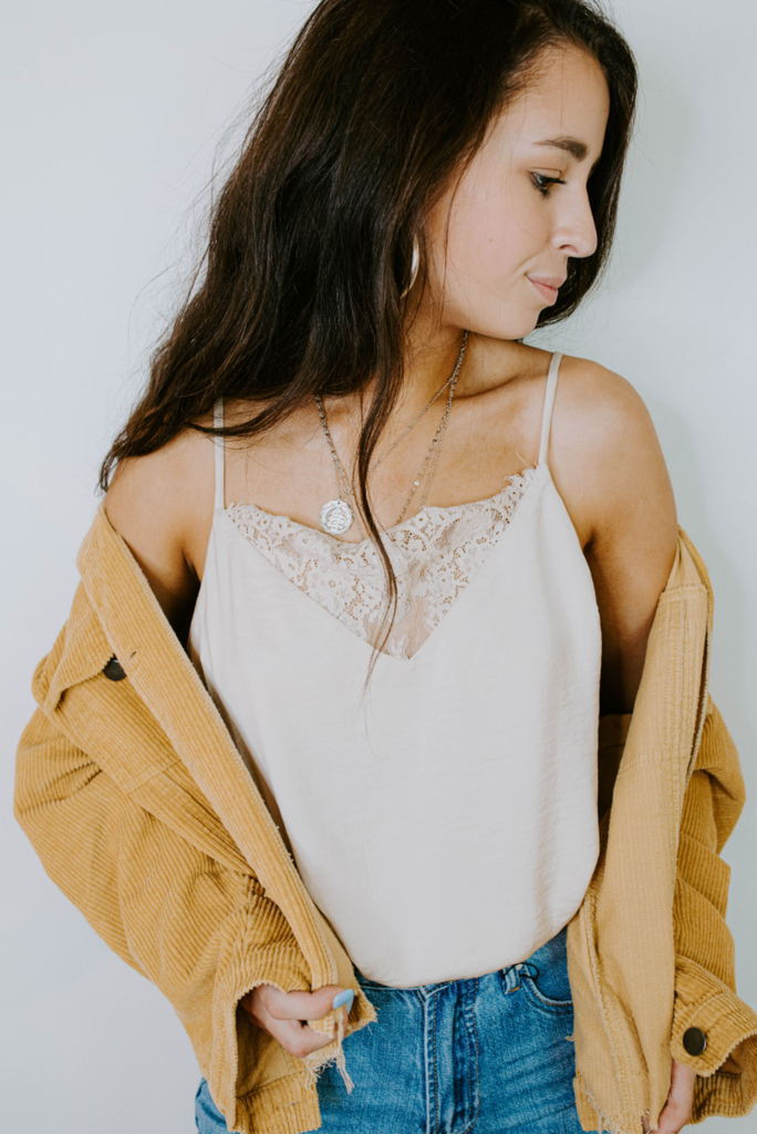 cream lace bodysuit