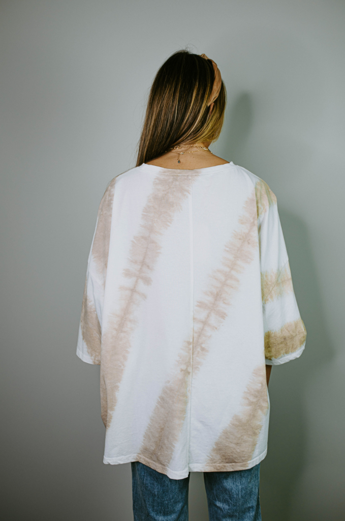 oversized tie dye top