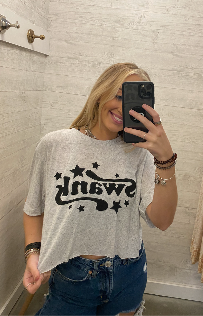 Cropped Swank Star Tee