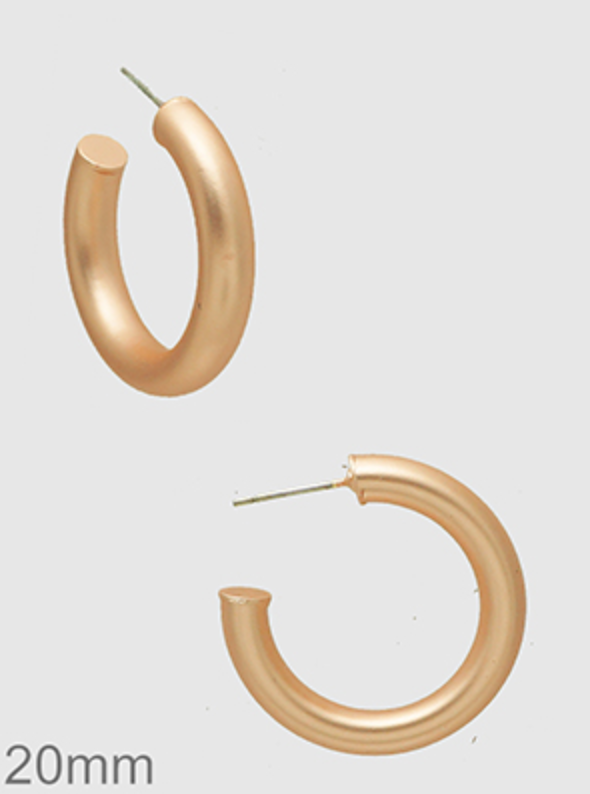 20mm Matte Tube Hoops