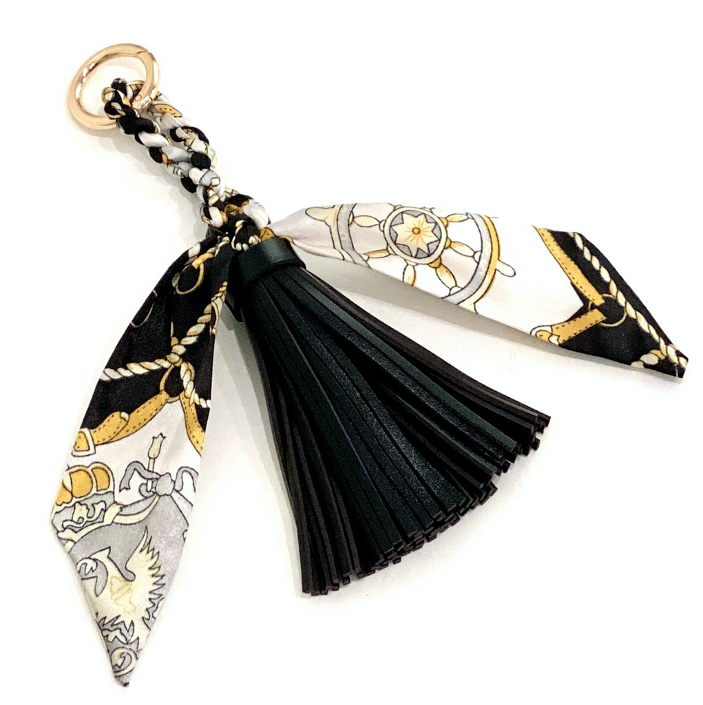Trendy Tassel Bag Charm