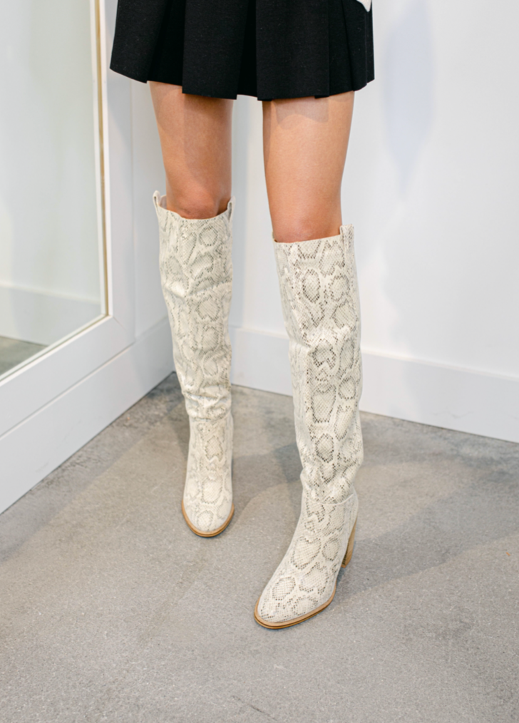 Saint Knee High Boots
