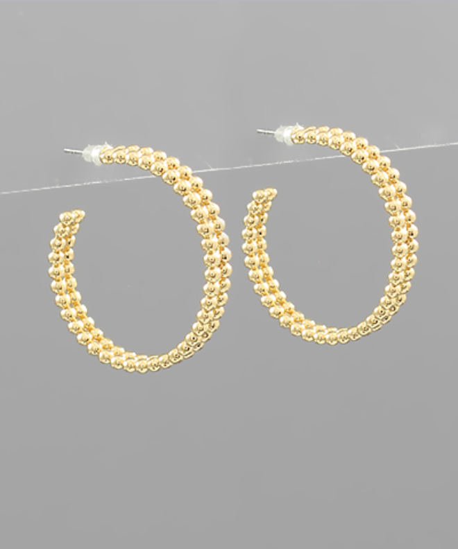 Double Row Hoops