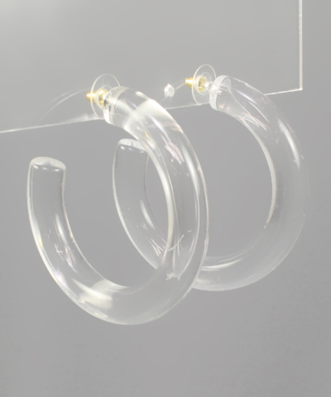 Acrylic Tube Hoops