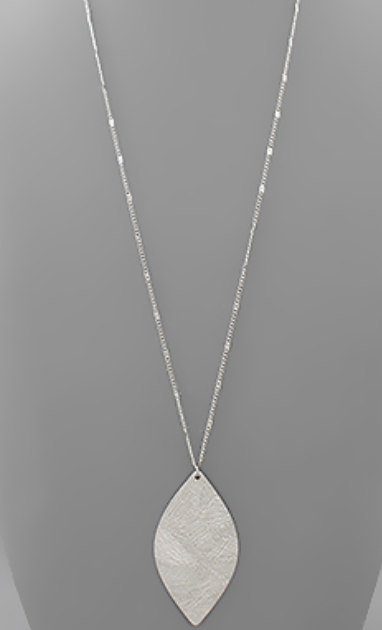 Pendant Marquise Necklace