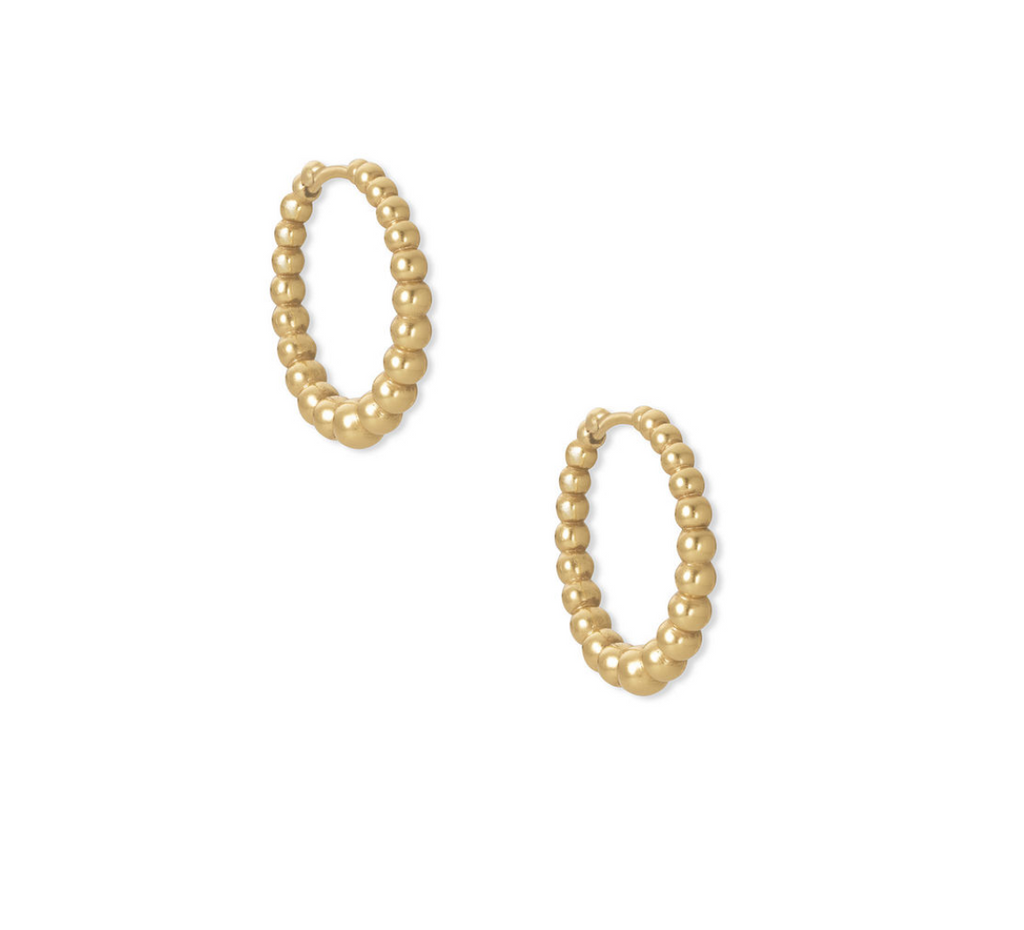 kendra scott gold huggies