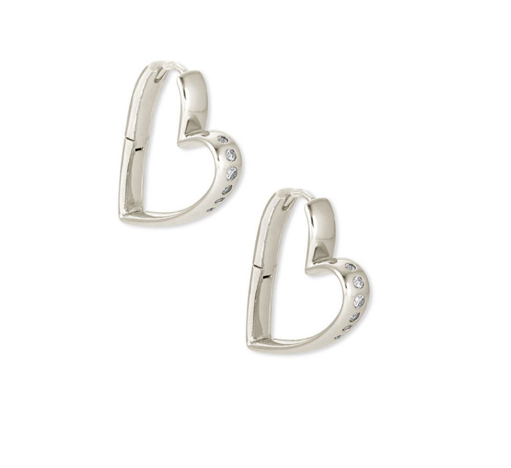 kendra scott heart earrings
