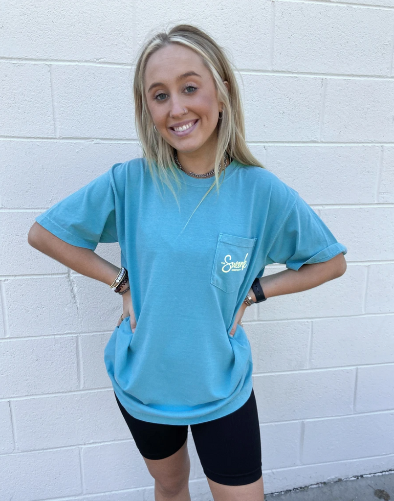 Cropped Swank Pocket Tee