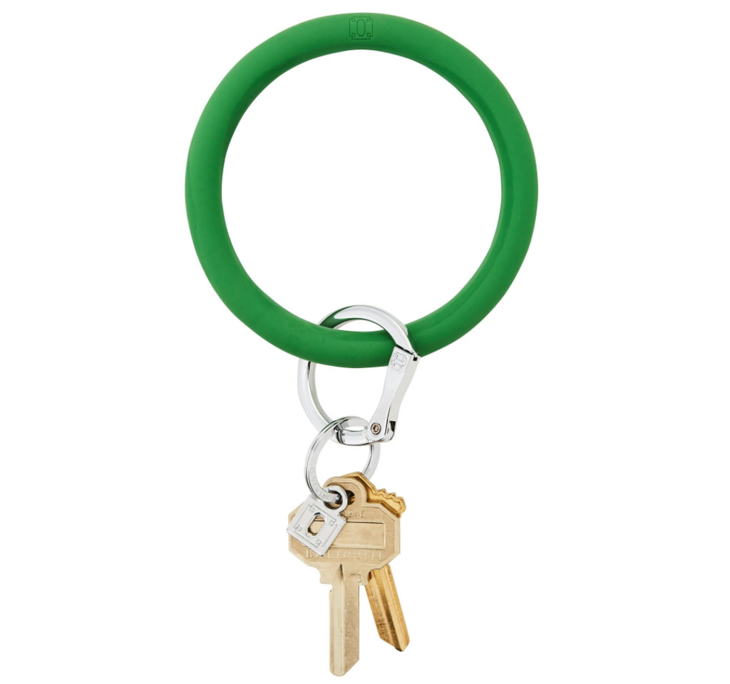 green o ring keychain