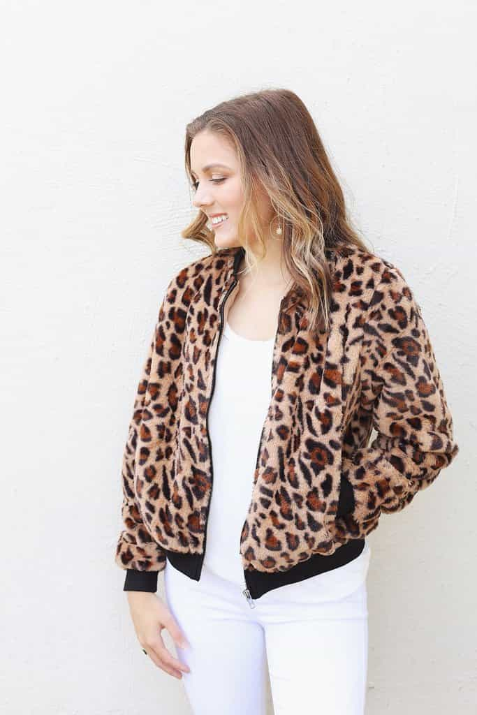 Feeling Fierce Leopard Jacket