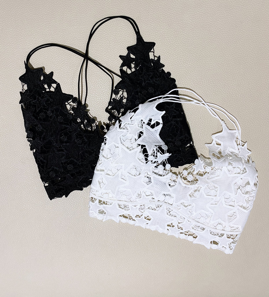Star Lace Bralette