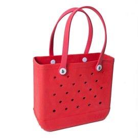 red small bogg bag
