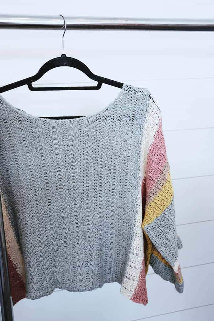 lightweight knit sweater