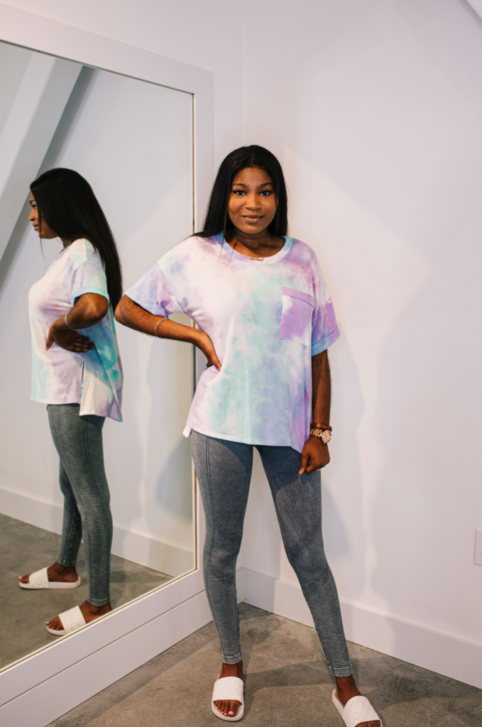 Cloud Nine Tie Dye Top