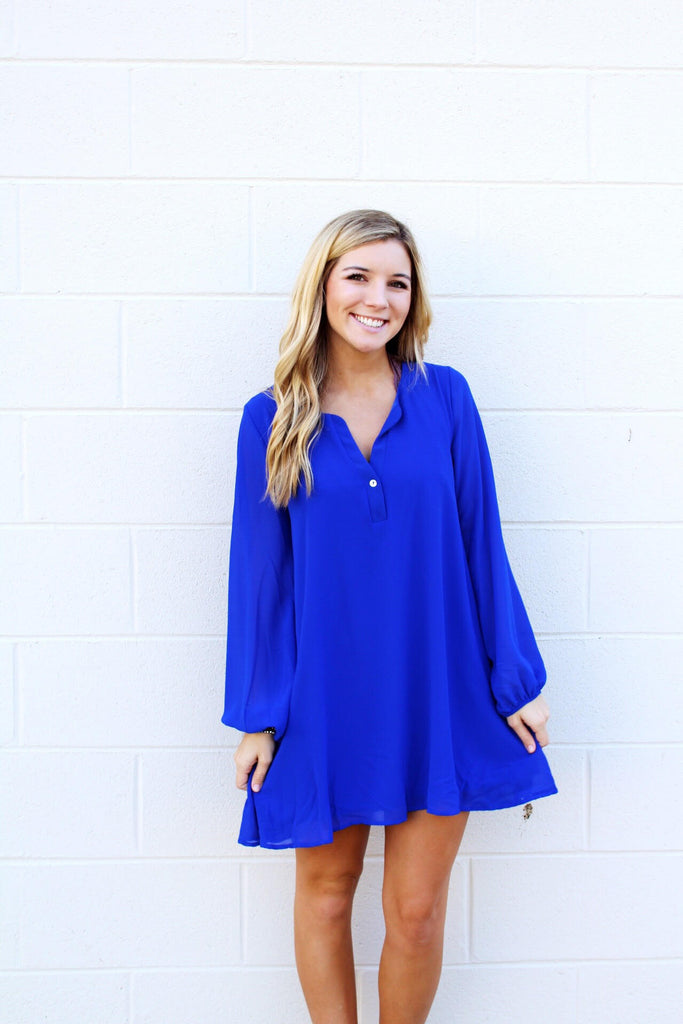 Chelsea V-Neck Button Tunic