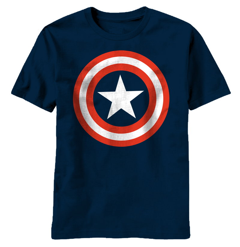 Captain America:  80's Captain T-Shirt - First Person Clothing