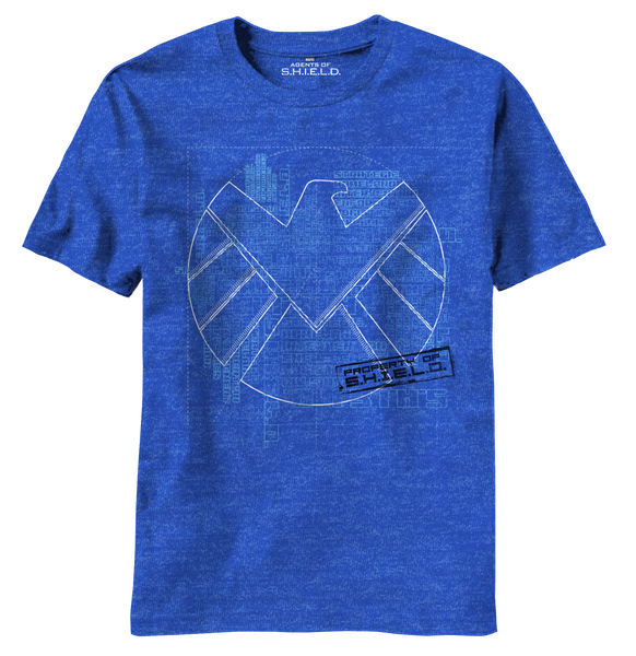 S.H.I.E.L.D:  Blueprints T-Shirt