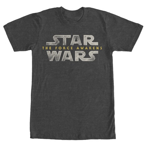 Star Wars The Force Awakens:  The Force Awakens Logo - First Person Clothing