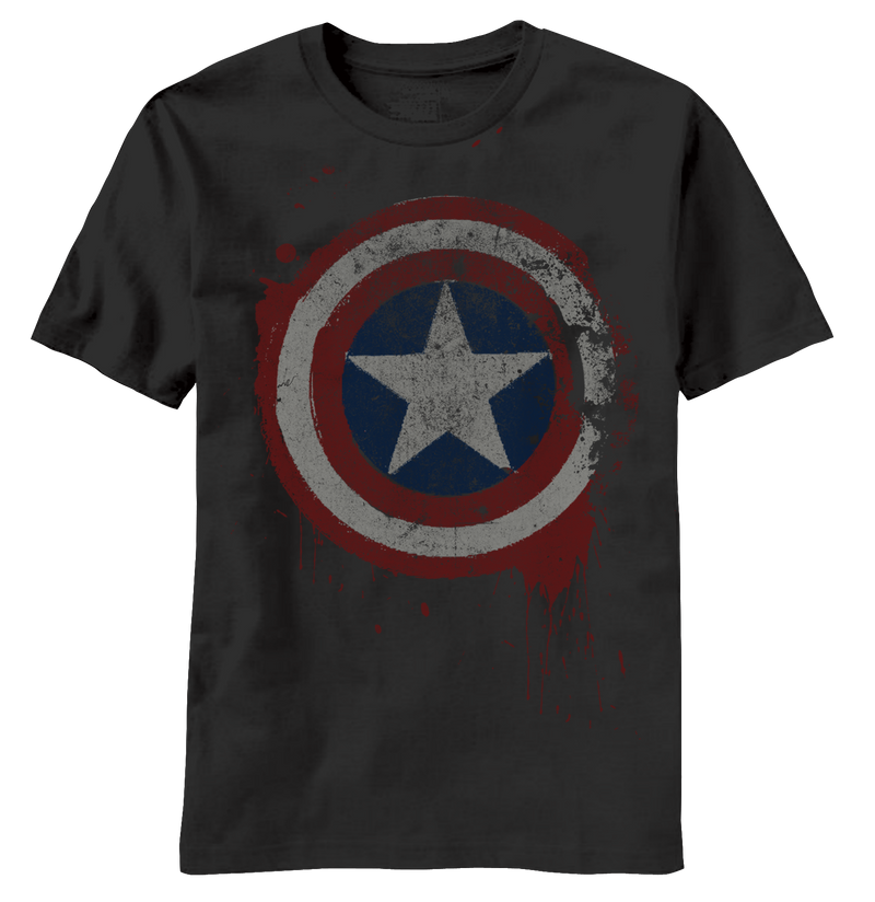Captain America:  Freedom from Fear T-Shirt - First Person Clothing