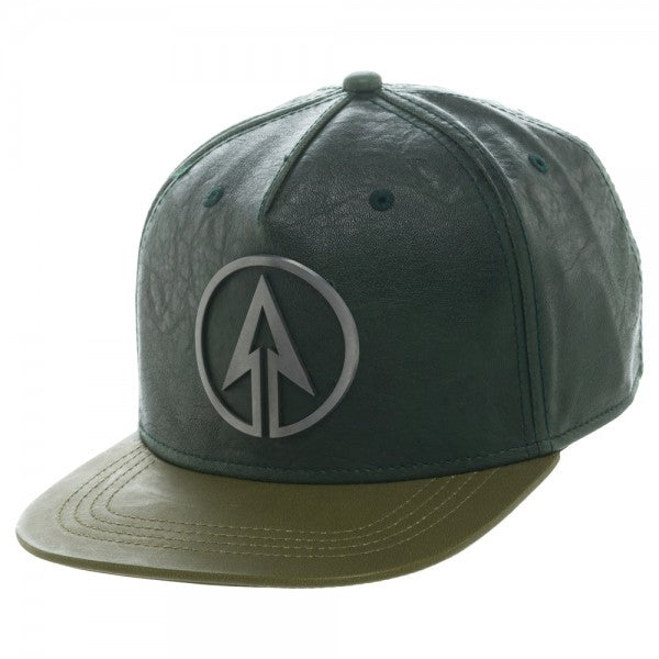 Arrow PU Snapback Cap