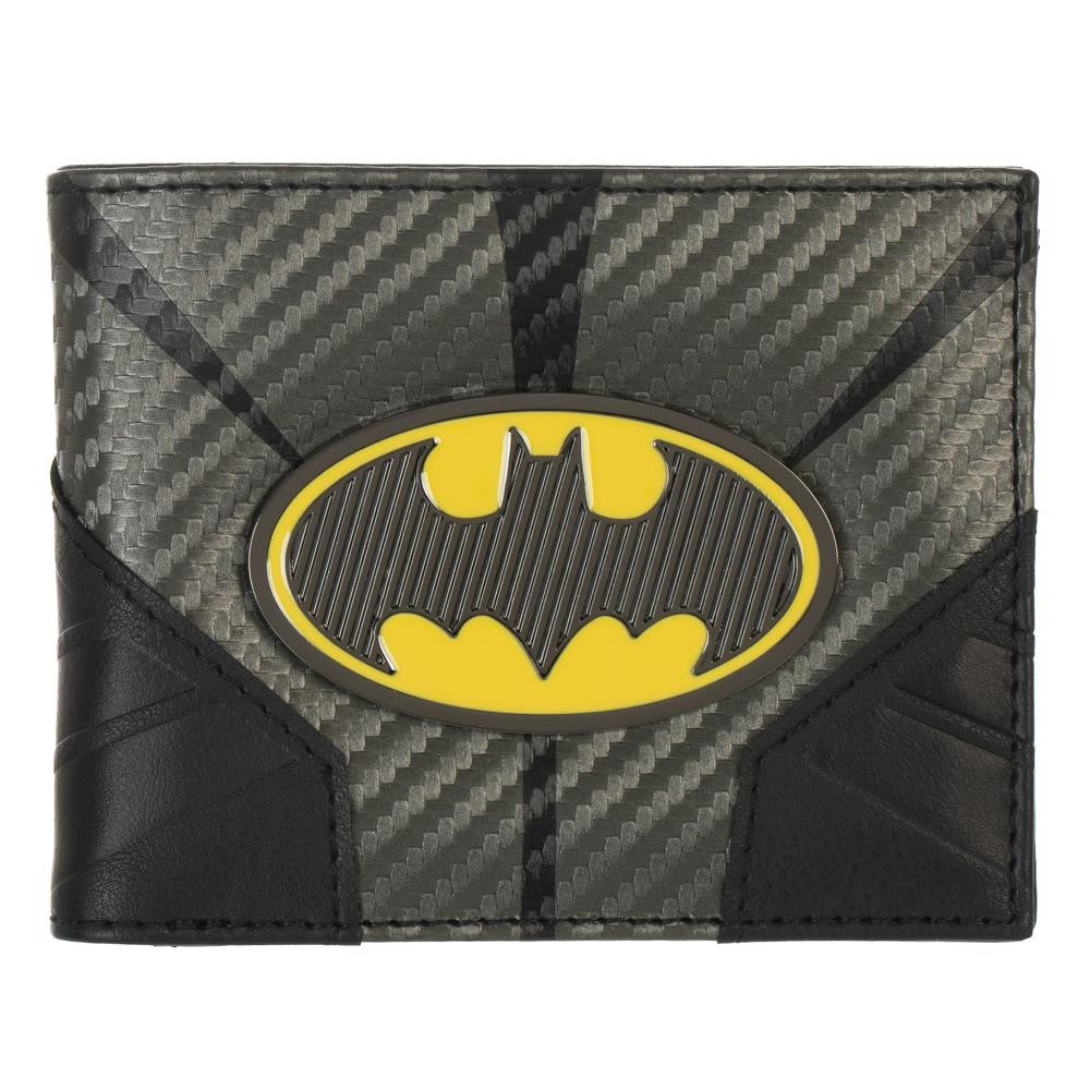 DC:  Batman Metal Badge Bifold Wallet