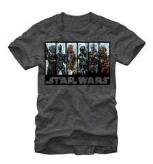 Star Wars:  Bounty Hunters T-Shirt - First Person Clothing