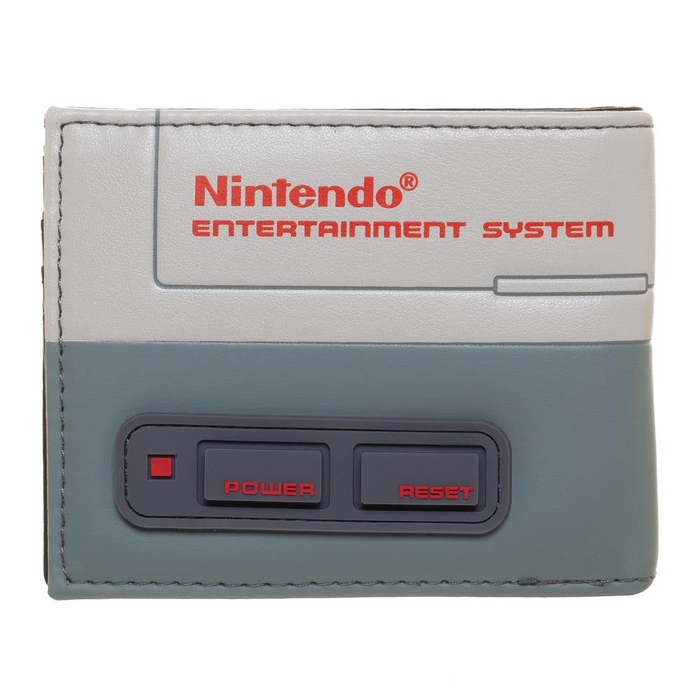 Nintendo Entertainment System Console Bi-Fold Wallet