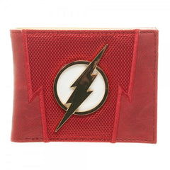 The Flash: DC Comics Flash Suit Up Bi-Fold Wallet - First Person Clothing  - 1