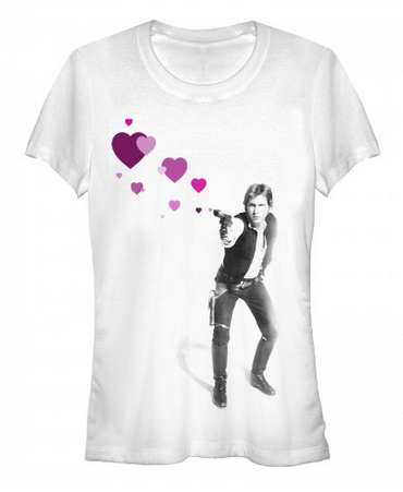 Star Wars:  Han Shot Hearts - First Person Clothing