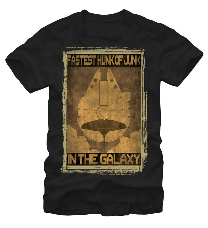 Star Wars:  Fastest Hunk of Junk T-Shirt - First Person Clothing