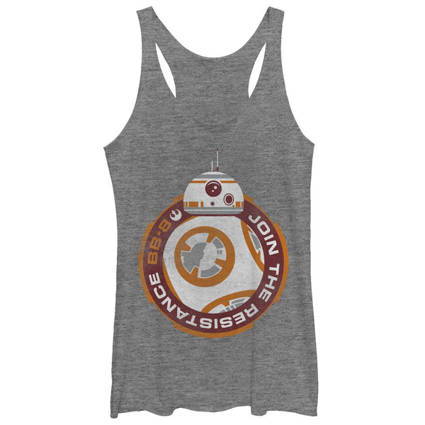 Star Wars The Force Awakens:  BB8 Racerback Tank Top