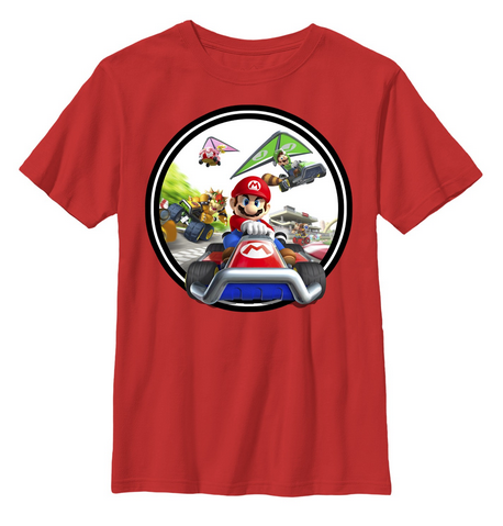 Nintendo:  Kart Circle Youth T-Shirt - First Person Clothing