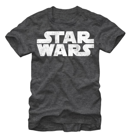 Star Wars:  The Simplest Logo T-Shirt - First Person Clothing