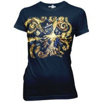 Doctor Who:  Van Gogh Juniors T-Shirt - First Person Clothing