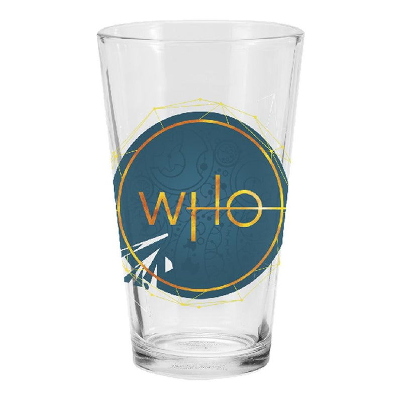 Doctor Who S11 16 oz. Laser Decal Glasses - Set of 2