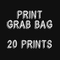 GRAB BAG - 20 PRINTS