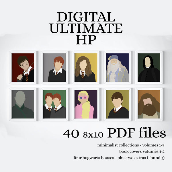 INSTANT WIZARD COLLECTION - PRINTABLE - 40 prints