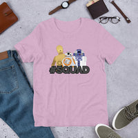 DROID SQUAD - Short-Sleeve Unisex T-Shirt