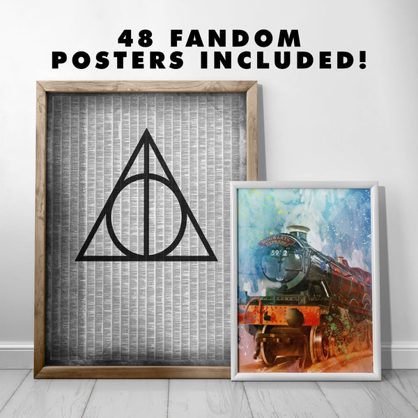 INSTANT MEGA POSTER COLLECTION - PRINTABLE