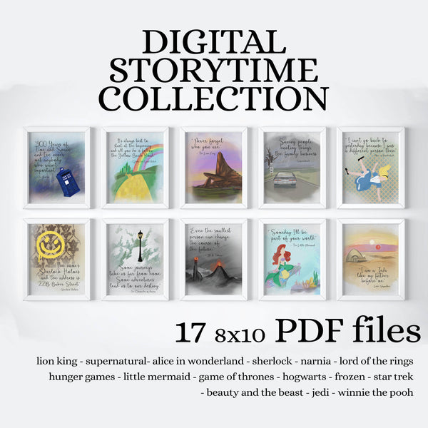INSTANT STORYTIME COLLECTION - PRINTABLE