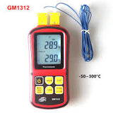 Low cost Digital Thermometer Dual Channel GM1312