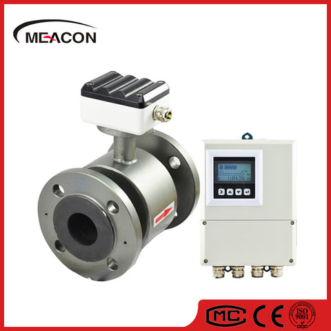 MIK-LDG Split Meacon® Food, Drink, Water, Waste, Sewage, Slurry, Mineral, Electromagnetic Flow meter Mag flowmeter