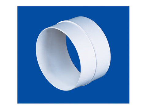 PVC duct round connector 150mm dia SE/SE