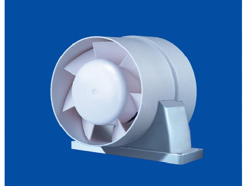 150mm small in line ducted fan
