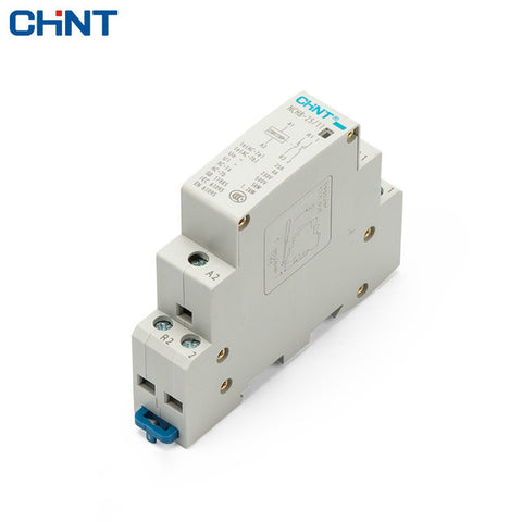 CHINT 25A 1NO 1NC 230VAC coil Din rail 2 pole relay